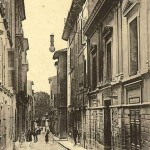 Rue de l'Opéra, à Aix. DR.