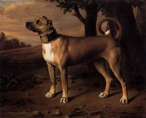 Johann Christof Merck (1695-1726), Ulmer Dogge, Jagdschloss Grunewald, Berlin.