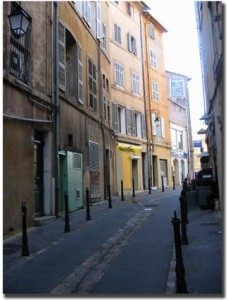 La rue Boueno Carriero de nos jours. © Jean Marie Desbois, 2006.