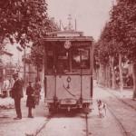 Le tramway à Luynes. DR.
