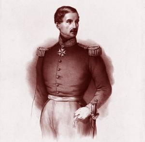 Général Changarnier, estampe de Jeoffroy, lithographe. Éd. chez Dopter, Paris, 1848. Bibl. nat. de France.