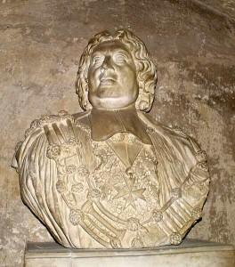 Buste de Jean-Claude Viany, par Thomas Veyrier. Cathédrale Saint-Jean-de-Malte d'Aix. © Jean Marie Desbois, 2010.