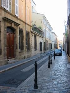 Rue Frédéric-Mistral. © Jean Marie Desbois, 2001.