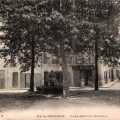 Place des Trois-Ormeaux,  Aix. DR.