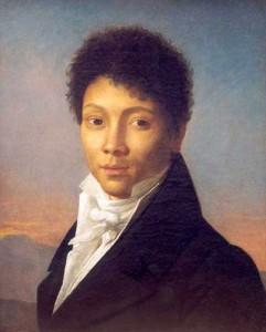 Francois-Xavier Fabre, Portrait de mulâtre, vers 1810.