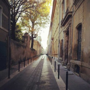 Rue Goyrand.© Jean Marie Desbois, 2012.