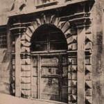 Une porte rue du Grand-Séminaire, à Aix. DR.