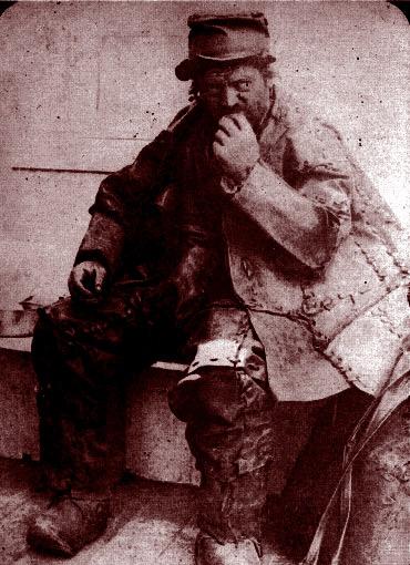 Un vagabond en 1885. DR.