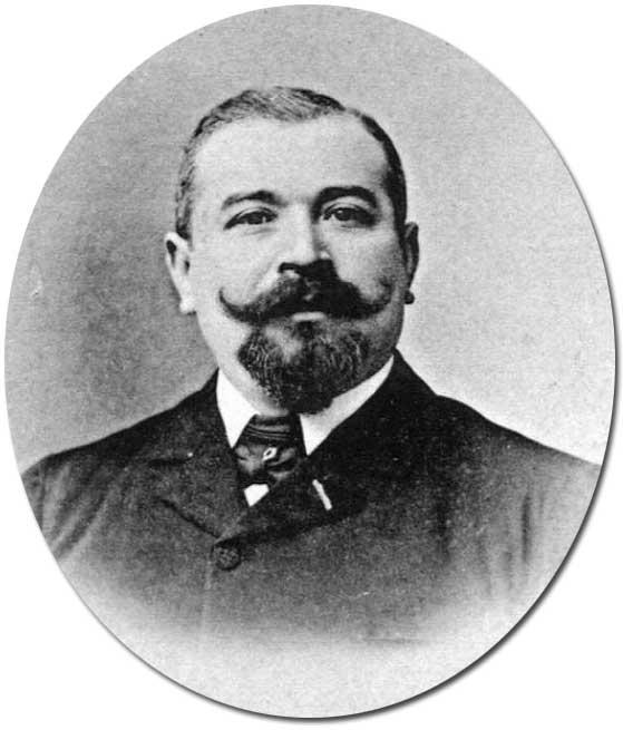 Auguste Girard, maire de 1904 à 1908 et de 1910 à 1912