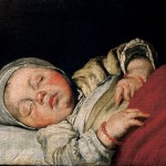 Enfant endormi, Bernardo Strozzi, Residenzgalerie, Salzbourg,  v. 1610.