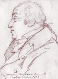 Antoine-Ignace d'Anthoine, par Frédéric Houdetot (1808). Palais Royal (paris).