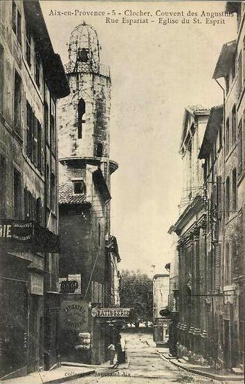 Rue Espariat (ancienne rue Grande-Saint-Esprit), à Aix. DR.