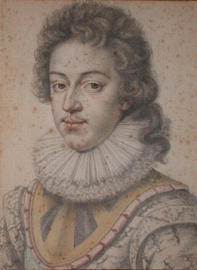 Louis XIII en 1622, par Daniel Dumonstier.