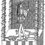Décoration de fête. D'après Le Magasin pittoresque, 1842.