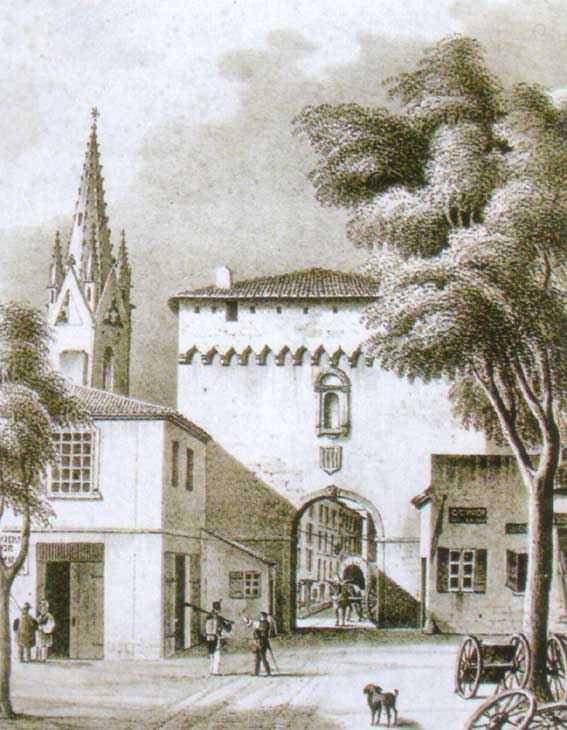 La porte Saint-Jean, musée Arbaud, anonyme. DR.