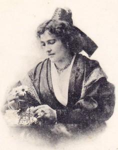 Portrait de Fortunette. Coll. de l'auteur.