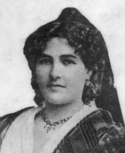 Portrait non daté d'Emma Teissier. DR.