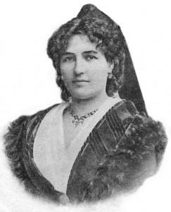 Portrait de Fortunette. Coll. de l'auteur