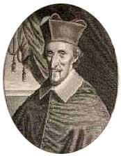 Le cardinal Grimaldi, archevêque d'Aix de 1648 à 1685. Enterré à Saint-Sauveur d'Aix.