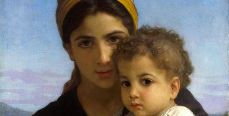 femme-et-enfant-bouguereau