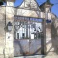 Portail d'entrée de l'ancien Hôtel-Dieu  de Maussane, aujourd'hui maison de retraite.  © Jean Marie Desbois, 2009.