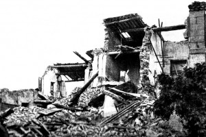 La ferme de Croigne dans laquelle  les quatre enfants Philip ont trouvé la mort.  Cliché Ruat. DR.
