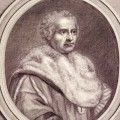 Portrait de Michel Riccio, premier président du Parlement de Provence, gravure sur cuivre, J. Cundier, 1724.