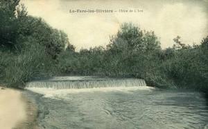 L'Arc à son passage à La Fare. DR.