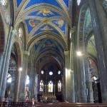 Intérieur de l'église de la Minerve, à Rome, où est inhumé Michel Mazarin. © J.-Ch. Benoist, 2007,  GNU Free Documentation License version 1.2 et suiv.