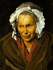 gericault-vieille-femme
