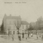 Peyrolles. Place des Tilleuls. DR.