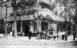 Le Splendid Bar, boulevard du Musée. DR.