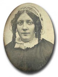 Chagrin d'amour. Femme non identifiée.  BNF.