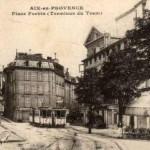 Place Forbin, ancienne place des Carmélites. DR.
