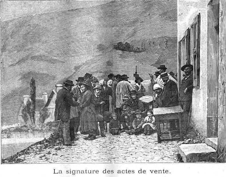La disparition de Chaudun (Hautes-Alpes) - GénéProvence