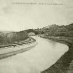 Le canal à La Roque. DR.