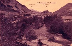 La Durance à son passage à Briançon. DR.