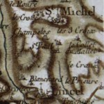 Lincel, sur la carte de Cassini. DR.