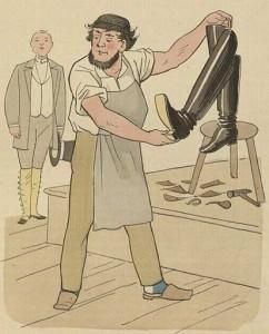 Cordonnier (1888). Lothar Meggendorfer et Franz Bonn.