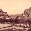 Vue générale de Sisteron vers 1900. DR.
