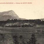 Vue générale de Saint-Marc-Jaumegarde. DR.
