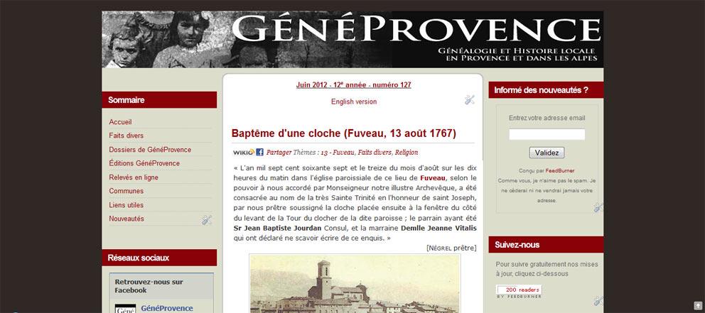 GénéProvence en 2012.