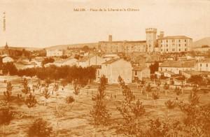 Place Morgan au début du XXe siècle. DR.
