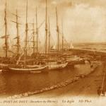 Jetée du port de Bouc. DR.