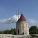 Moulin dit de Daudet,  Fontvieille. &nbsp;Jean Marie Desbois, 2012.