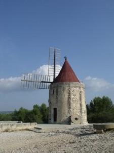 Moulin dit de Daudet, à Fontvieille. ©Jean Marie Desbois, 2012.