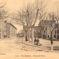 Saint-Zacharie, la route de Nans. DR.