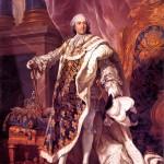 Louis XV en habit de sacre (portrait de Louis-Michel Van Loo)