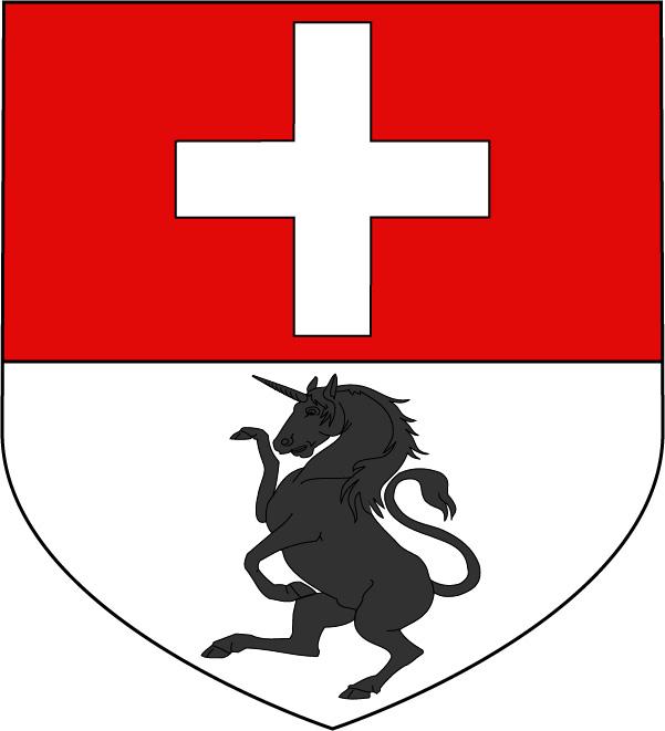 Blason de la famille Jean de Sulauze (dessin S. Avy)