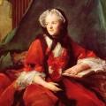 La reine Marie Leczynska lisant la Bible (Jean-Marc Nattier, 1748).